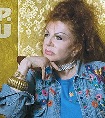 Мать Сильвестра Сталлоне Жаклин побывала в Одессе еще в годы перестройки.