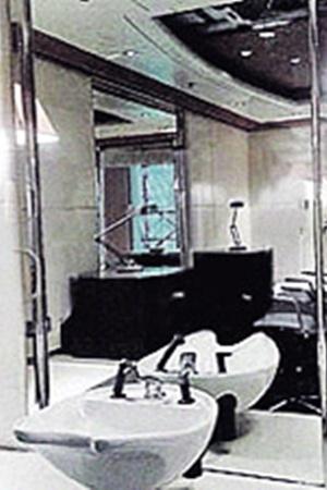 Отделке ванной комнаты на «Эклипсе» позавидуют любые VIP-апартаменты.