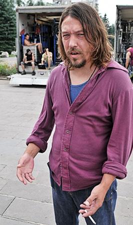Вячеславу Петкуну дебют в кино дался с трудом.