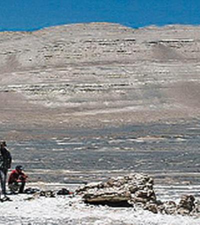 Пустыня Наска когда-то была океанским дном.