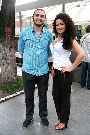 Молодые вокалисты певица Gala и Роман Стоколос надеются, что