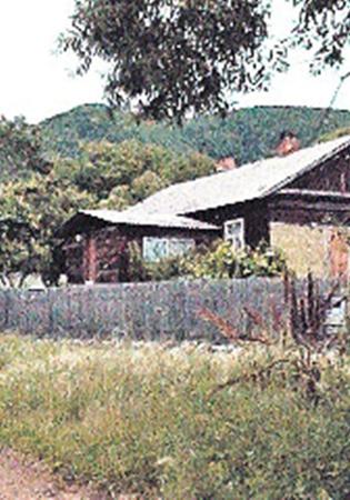 Дом целительницы, где произошла трагедия.