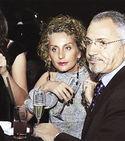 Савик Шустер набирается (ума) с женой, продюсером и соратницей Ольгой Невской.