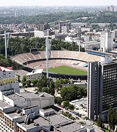 Гостиница «Русь» возле Республиканского стадиона стала олимпийской мини-деревней для спортсменов, соревновавшихся в Киеве.