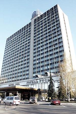 Гостиница «Русь» в 1980-м была самой комфортабельной в столице Украины. Здесь селили спортсменов и тренеров.