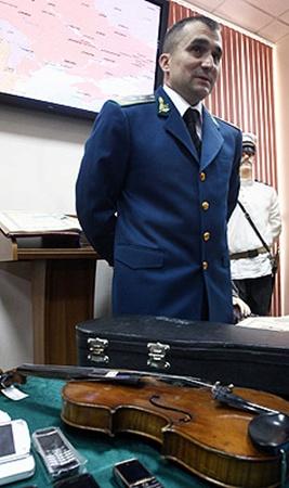 Жемчужину «таможенной коллекции» - скрипку 1736 года - обнаружили в аэропорту «Борисполь».