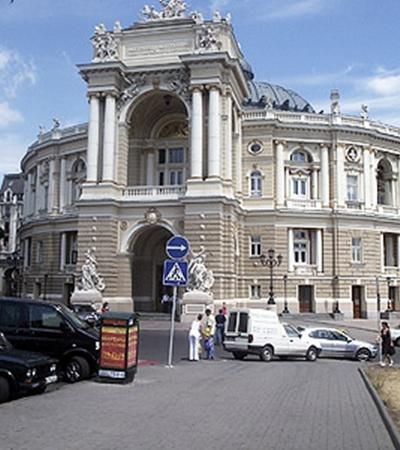 Одесский оперный театр считается одним из самых красивых театров мира.