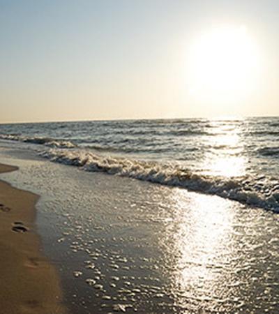 Азовское море всегда теплое.