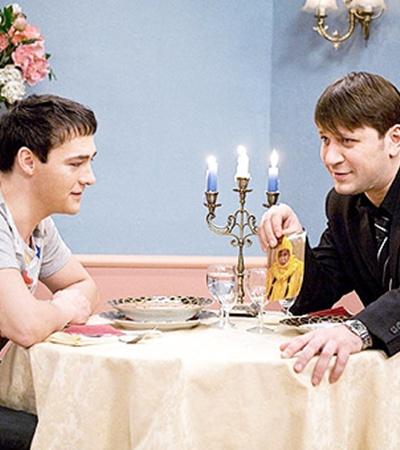 Шатунов чудил во время съемок наравне со всей семейкой Букиных.