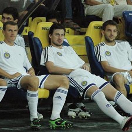 Когда Милевскому нечего делать... Фото с сайта football.ua.