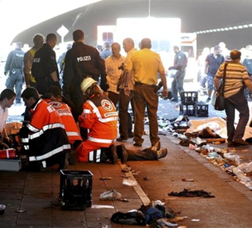 Сотни гостей фестиваля пострадали. Фото АП