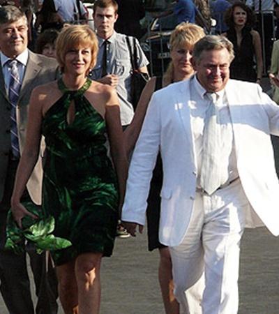 Юрий Стоянов с супругой Еленой комфортно чувствовали себя под южным одесским солнцем.