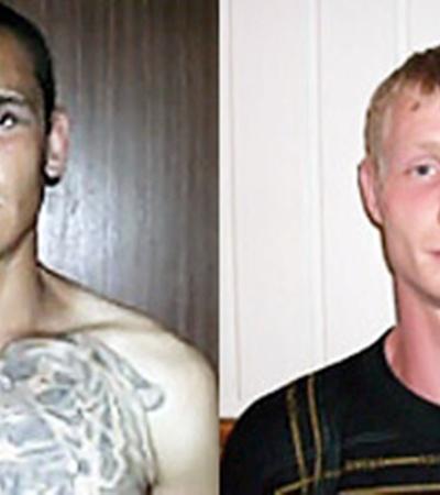 За любые сведения о Дмитрии Малохлебе (на фото слева) и Алексее Песцове назначена награда - 20 тысяч гривен.