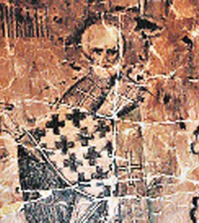 Лик Николы на Никольской башне.