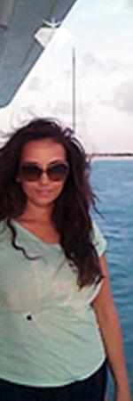 Чехова приняла участие вбизнес-регате на Карибах.