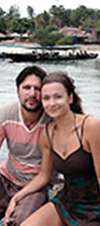 Виктор Логинов с женой Ольгой исследовали Бали.