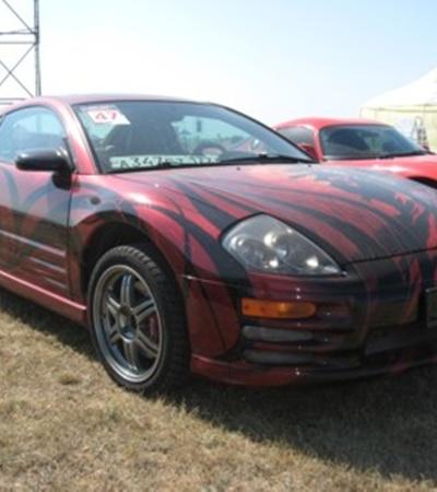 Эксклюзивная покраска этой машины обошлась в несколько тысяч долларов