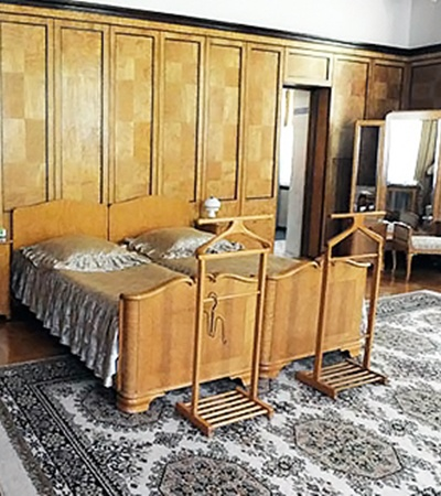 Основная спальня.