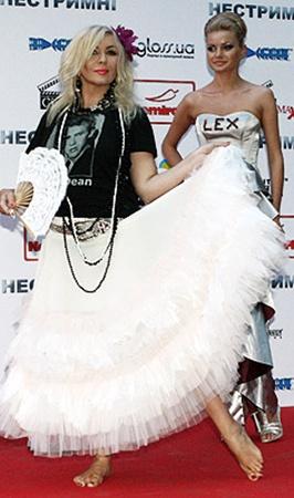 Ирина Билык выбрала для премьеры романтический образ.