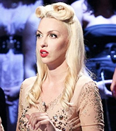 Певица Оля Полякова - самая бойкая участница шоу.