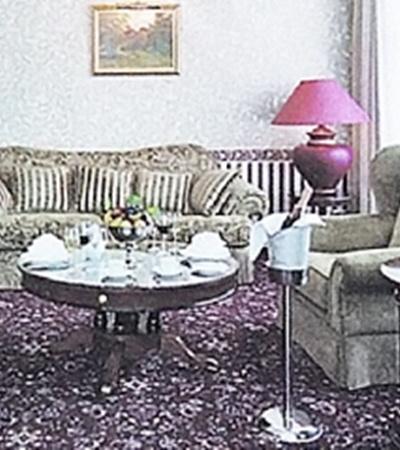 Вот так выглядит президентский номер Пугачевой и Галкина.