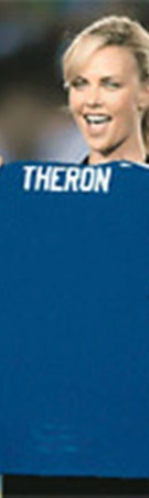Актриса Шарлиз Терон была счастлива, когда ее приняли в фан-клуб «Челси».