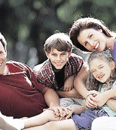 Закаляться всей семьей веселее!