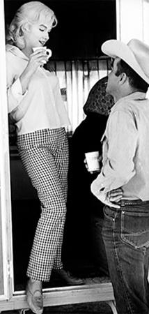 Партнер по съемкам пережил Монро всего на несколько лет.