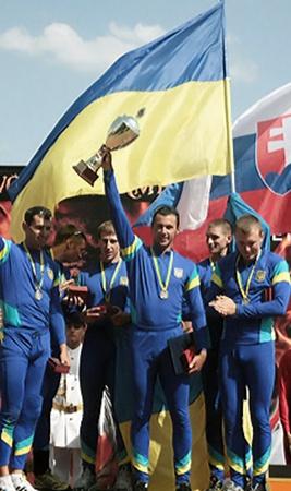 Украинская команда - победитель турнира.