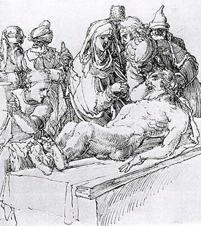 Рисунки Альбрехта Дюрера, которые находятся в Голландии: «Приготовления для погребения Христа» (частная коллекция в Амстердаме) и «Лошадь в профиль» (Музей Бойманса, Роттердам).
