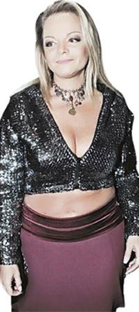2007 год: В образе аппетитной блондинки.
