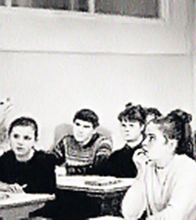 Педагог Вячеслав Тихонов уважал учеников. Те отвечали ему взаимностью.