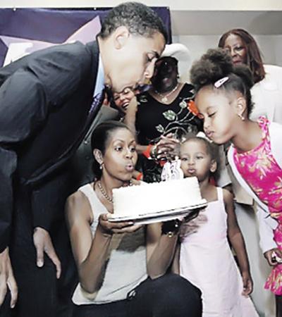 Барак Обама обычно отмечает свой день рождения в кругу семьи.