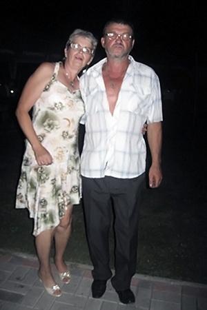 Ольга с мужем Николаем Романовым.