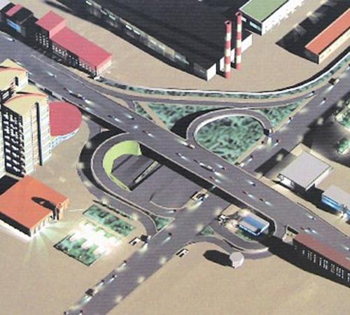 Развязка возле станции метро «Шулявская» давно требует реконструкции (проект).