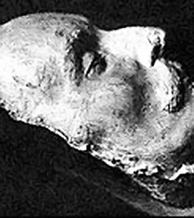 Посмертная маска Шекспира, обнаруженноая в Германии в 1842 году.