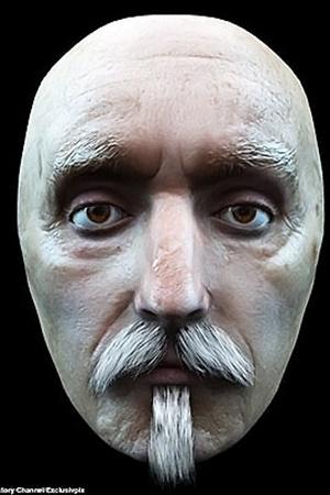 Портрет великого драматурга в 3D формате (слева). Криминалисты уверены, что не ошиблись. Но историки сомневаются.