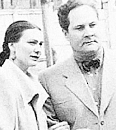 А семейная жизнь с первым мужем Милаевым у дочки генсека не сложилась.