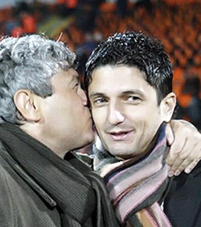 Мирча и Разван Луческу - уникальная династия. Отец тренировал сборную Румынии в 80-е годы, сейчас этим занимается сын.