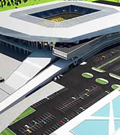 Так должна будет выглядеть главная спортивная арена Львова уже в следующем году.