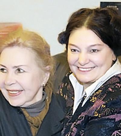 Инна Макарова с дочерью Натальей.