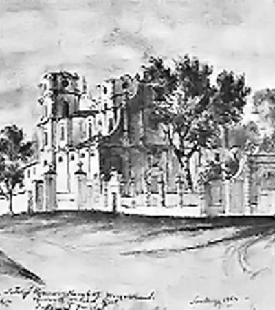 В секретных подвалах Лубенского замка Иеремия Вишневецкий, убегая от повстанцев, оставил свои ценности.