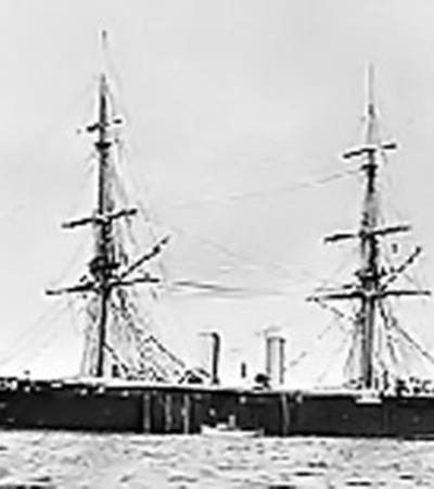 Английский пароход «Принц» затонул полтора века назад сзарплатой моряков целой эскадры.