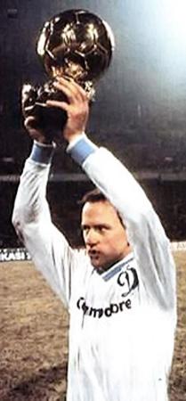 В 1986-м Беланов был удостоен «Золотого мяча».