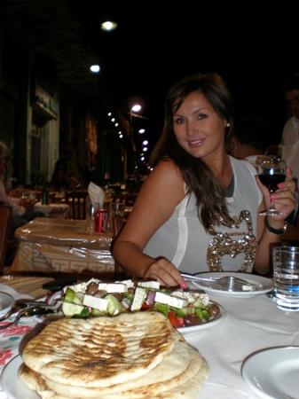 Галлина в Греции досконально изучила кухню греческого народа
