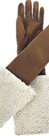 Дубленые перчатки до локтя  - изобретение Yves Saint Laurent.