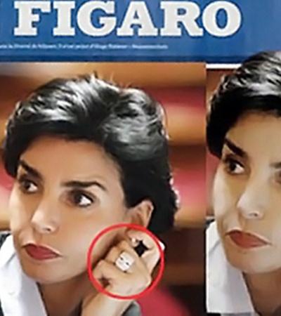 Отретушированное фото в «Фигаро» возмутило общественность Франции.