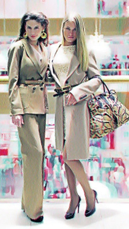 Костюмы снова в моде! Выберите свой силуэт, мужской или женственный - зависит от вашего типа фигуры.