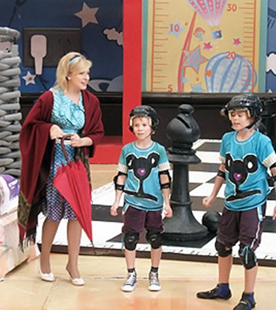 Телеведущая полюбила мальчишек - участников проекта - как родных.