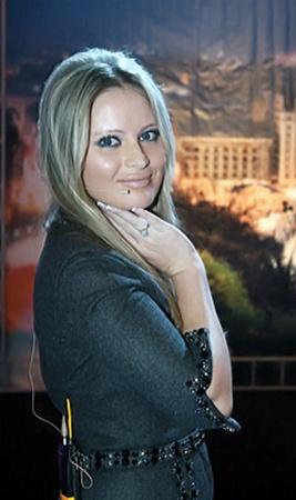 Российская теледива Дана Борисова будет помогать вести шоу.